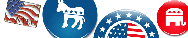 Election buttons