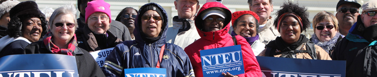 NTEU members rally on Capitol Hill