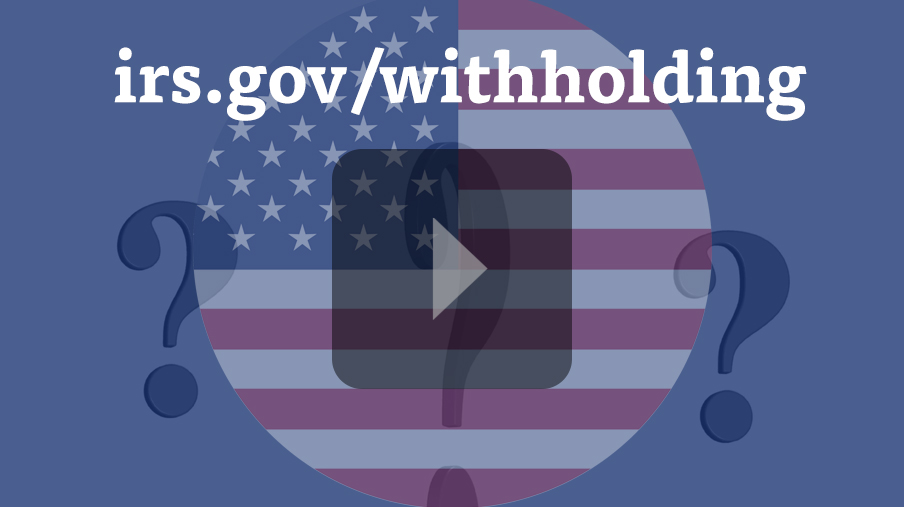 IRS Tax Withholding Calculator